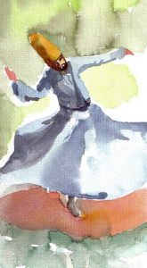 sufi whirling from sound