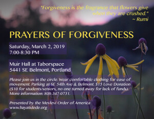 Prayers of Forgiveness 2019