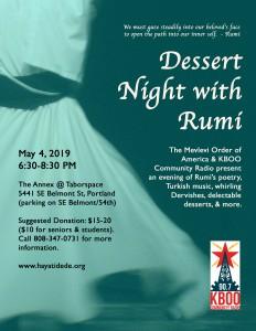 Dessert Evening 2019